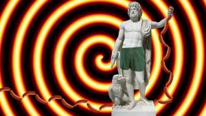 statue-parode-en-calecon-vert-sapin-upcycle-damoiseaux