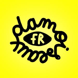 Typo_Ronde_DAMOiSEAUX_MODE_UPCYCLING_LOGO_YELLOW