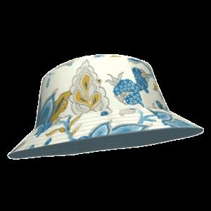 Bob-damoiseaux-lapon-imprime-arts-crafts-reversible-bleu