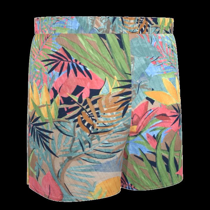 short-bain-ethique-fleurs-tropicales-damoiseaux