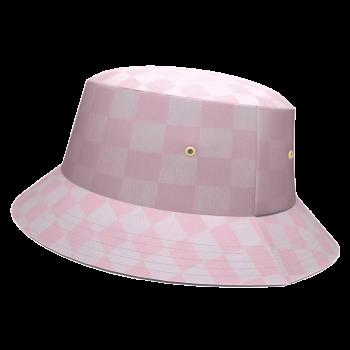 COOLALA-bob-upcycling-damier-rose-blanc-vintage-damoiseaux