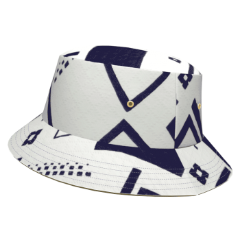 HiPNÓTiCO-bob-eco-responsable-texture-imprime-graphique-blanc-bleu-marine-graphique