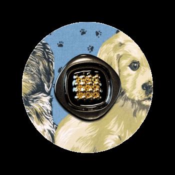 calecon-bleu-imprime-chien-bouton-vintage-chiot