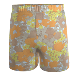 calecon-damoiseaux-ethique-jaune-marron-orange-motif-fleurs-vintage-recycle-annees-70