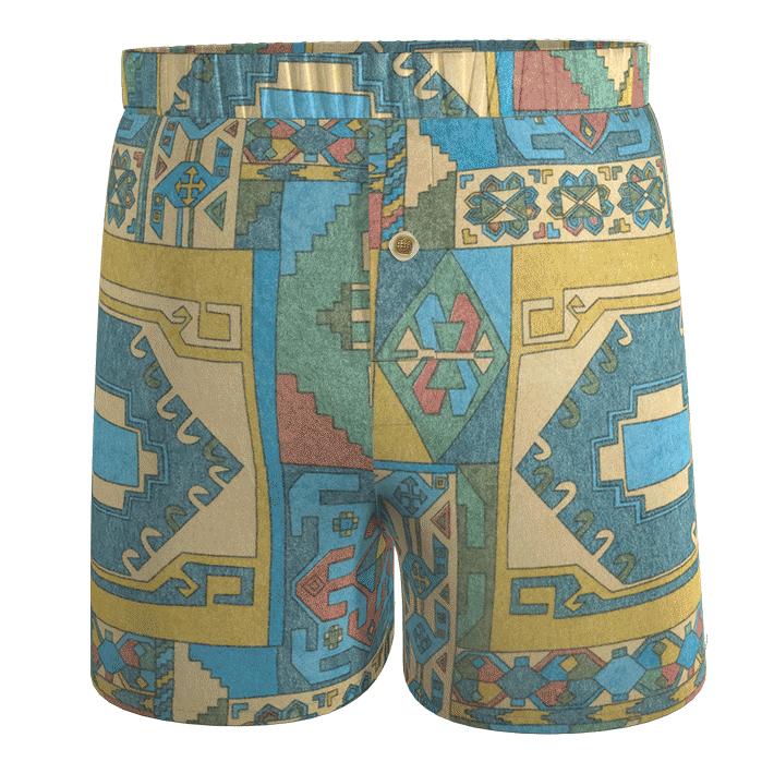 calecon-boxer-recycle-eco-responsable-damoiseaux-imprime-colore-formes-geometriques-bleu-jaune-rouge