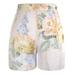 Poom-Poom-Short-Poches-Coeur-Imprimé-Fleurs-Vintage